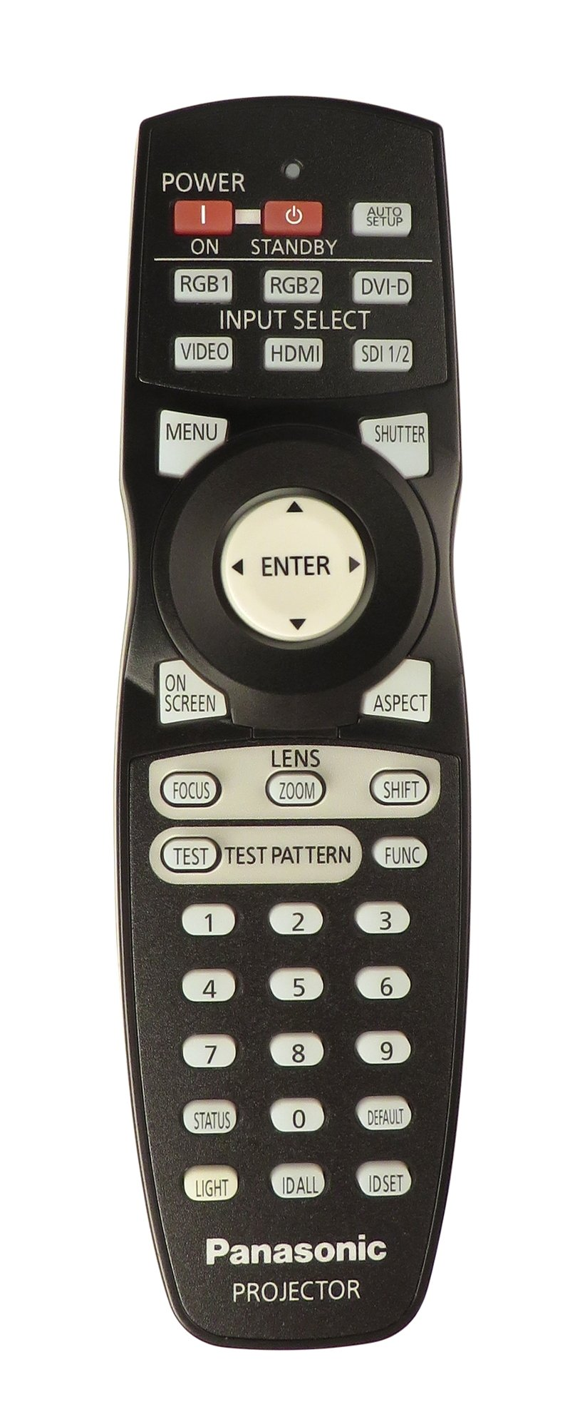 Remote for Panasonic PT-DZ10KU