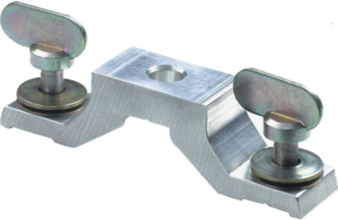 Omega Clamp Attachment Bracket with 1/4-Turn Fasteners