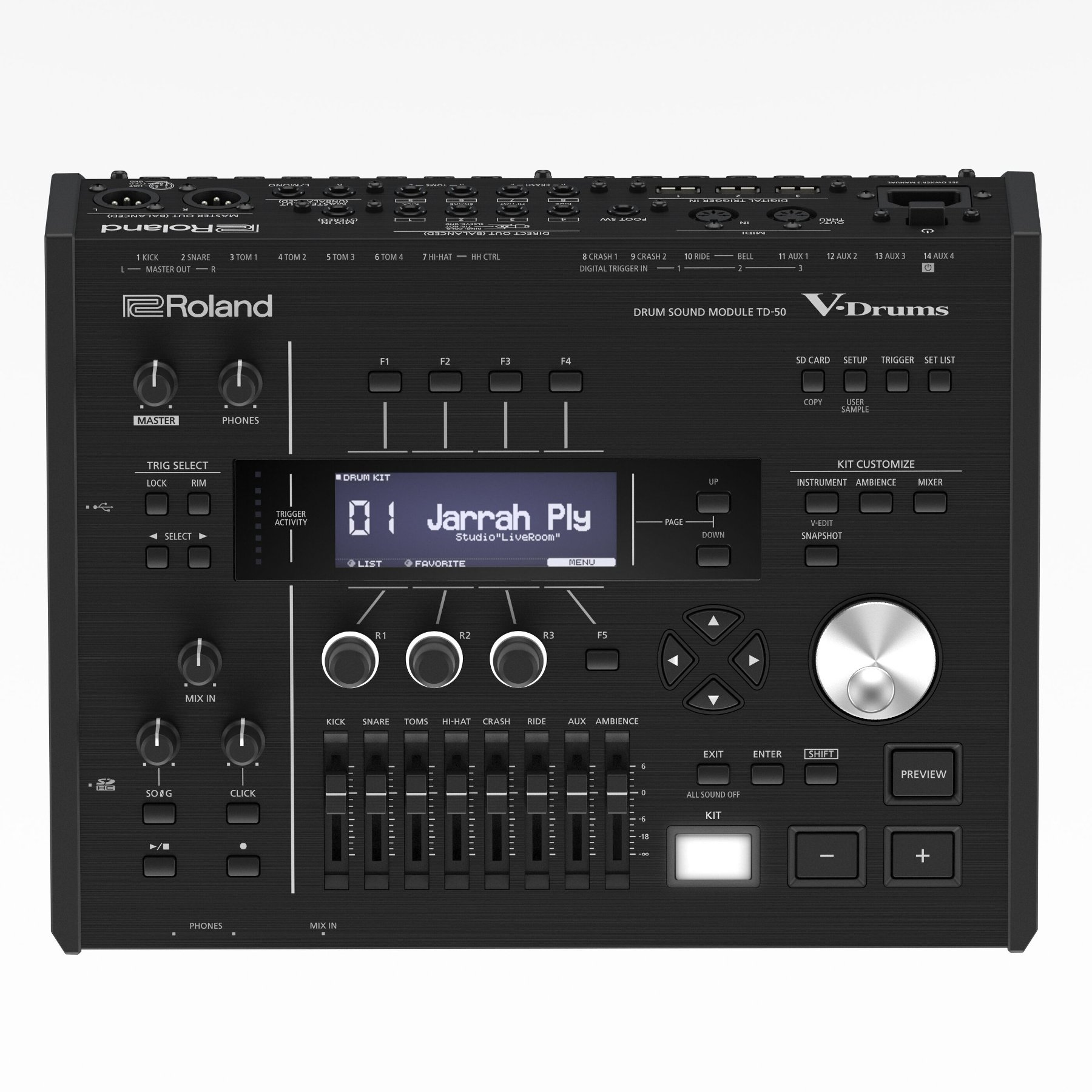 V-Drums Kit for Professional Recording