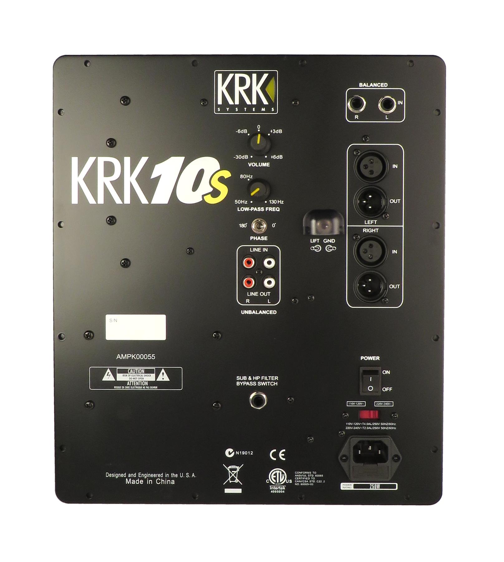 Amp Assembly for KRK10S