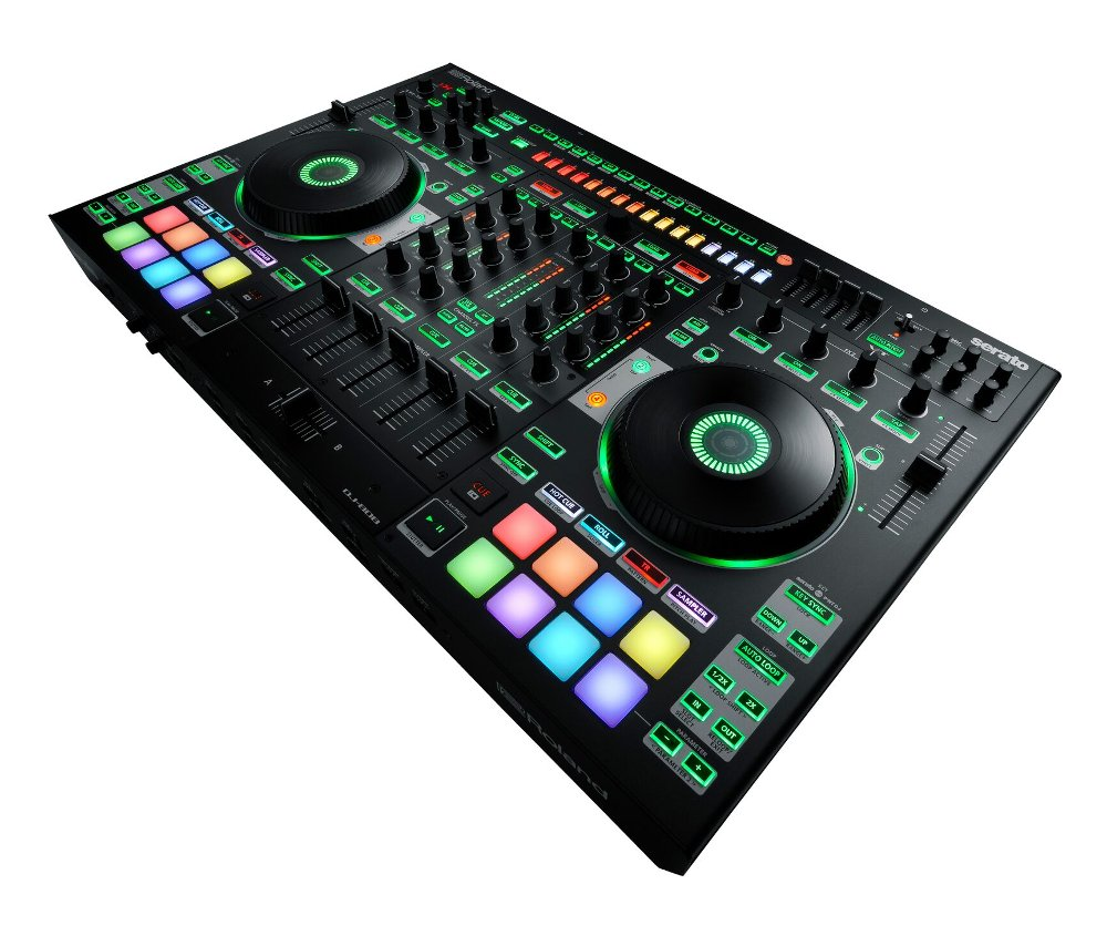 Roland DJ-808 DJ Controller with Serato DJ Integration DJ-808