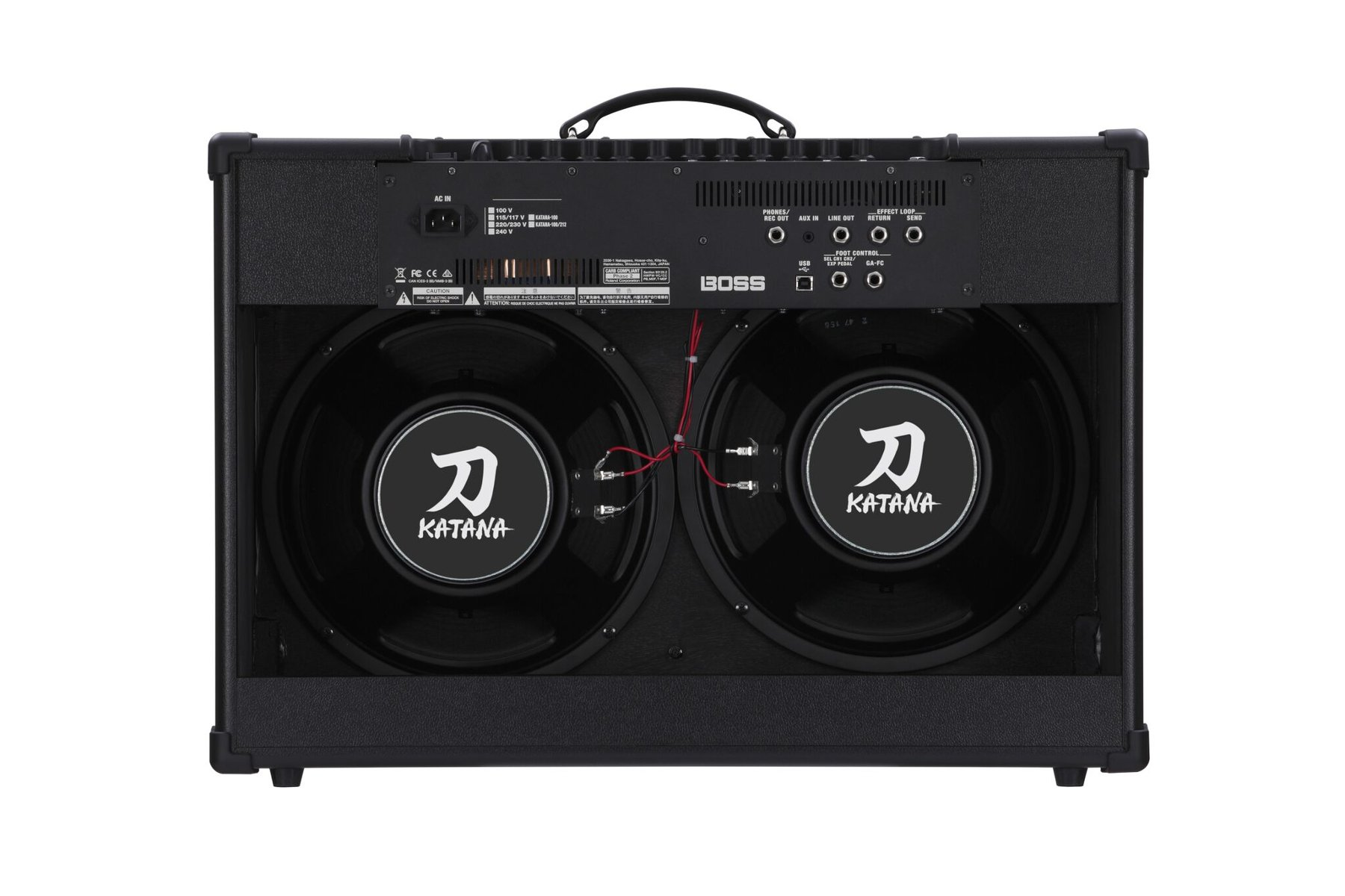 2x12 Combo Guitar Amplifier, 100W