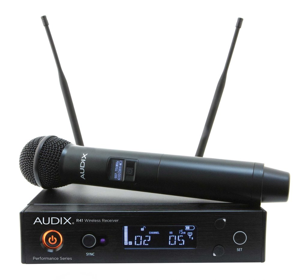 R41 Diversity Receiver with H60/OM2 Handheld Transmitter