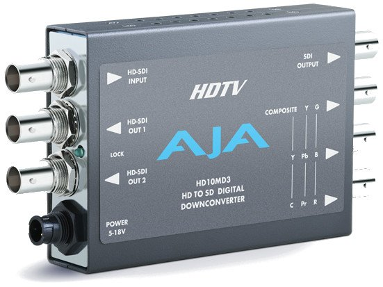 HD-SDI to SDI Down-Converter with Power Supply