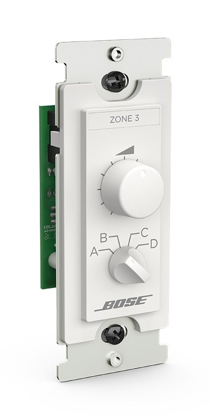 3 Zone Controller with Source Selector