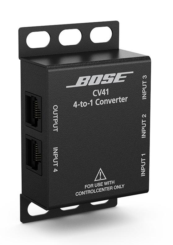 Control Center 4-to-1 Converter