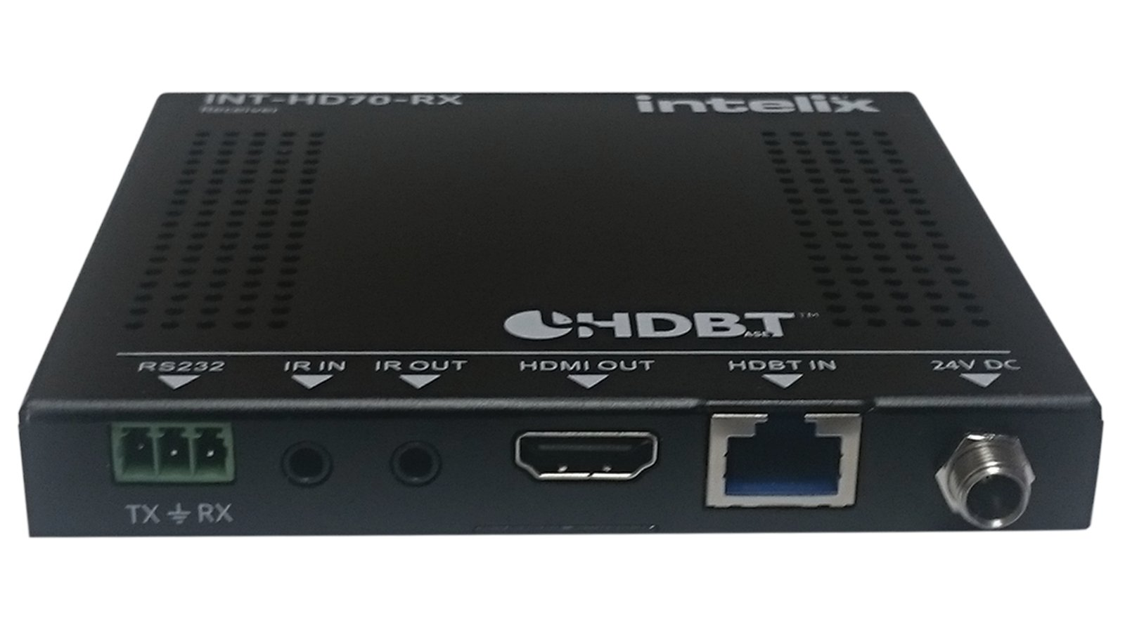 Intelix INT-HD70-RX  HDMI, IR & RS232 Receiver with PoH INT-HD70-RX