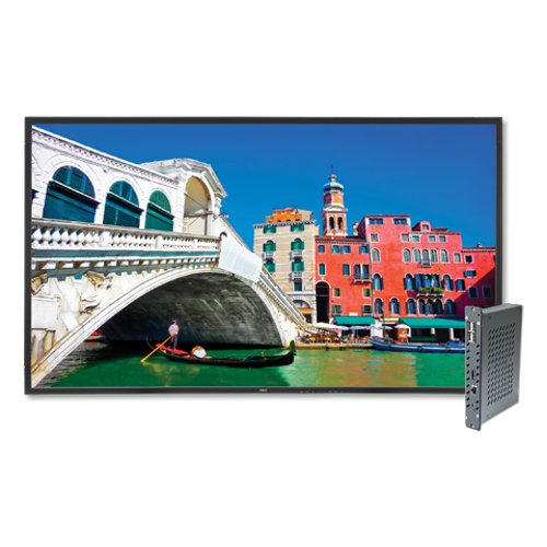 "42"" High-Performance LED- Commercial Display with Speakers"
