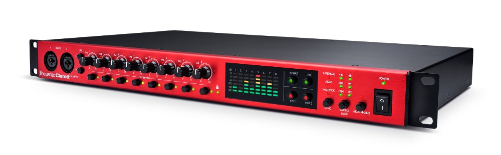 8-Channel Mic Preamp and AD/DA Converter