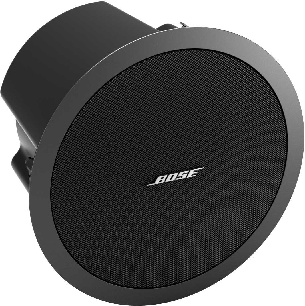 "5.25"" 100W @ 8 Ohms Black FreeSpace Ceiling Loudspeaker, Multi-Tap Transformer,"