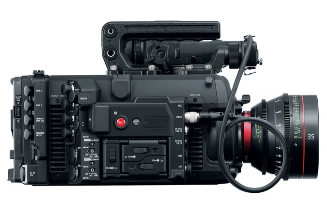 EOS Cinema Camera with PL Mount