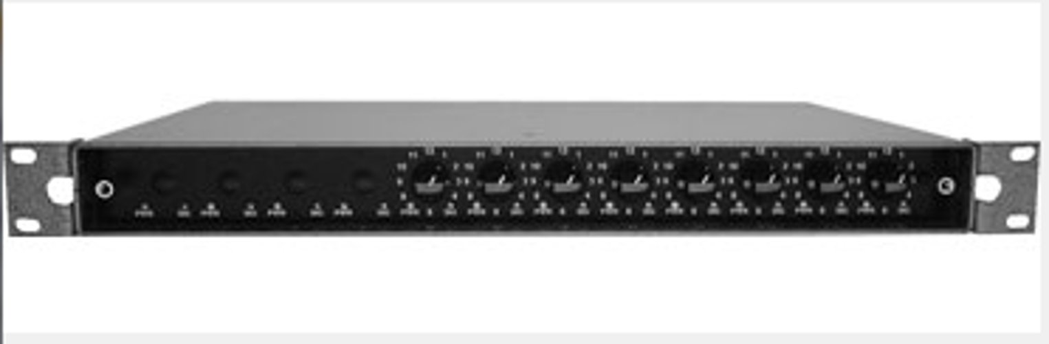 Doug Fleenor Designs RR-4IN-8OUT DMX Roto-Router, Rack Mountable, 4-Inputs,  8-Outputs | Full Compass