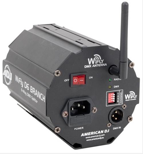 6-Way Wireless DMX Splitter/Amplifier with WiFLY Transceiver