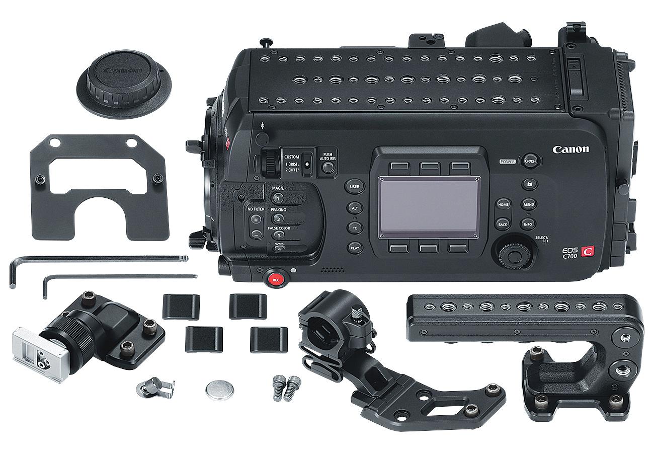 EOS C700 Cinema Camera with EF Mount
