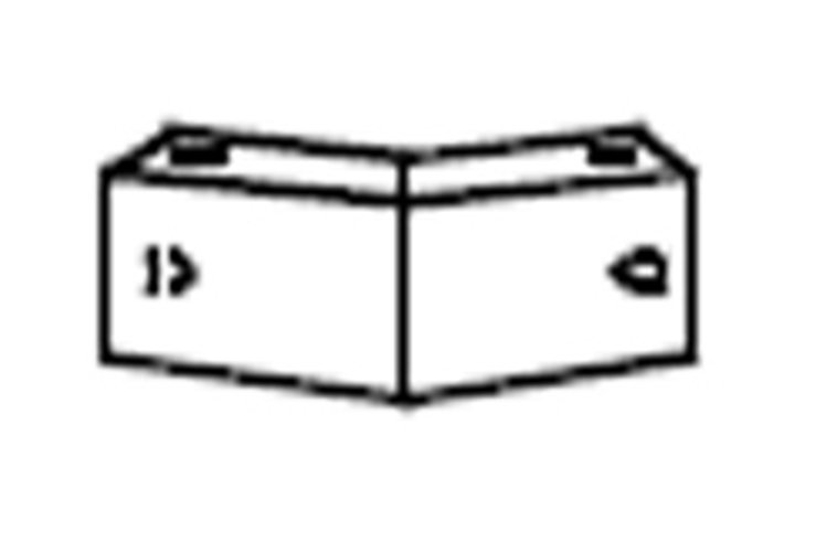 ATM/Adaptive Technologies AMFS-1X2-40 40° Speaker Connecting Bar AMFS-1X2-40