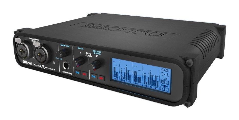 18x22 USB Audio Interface with DSP, Mixing and Effects