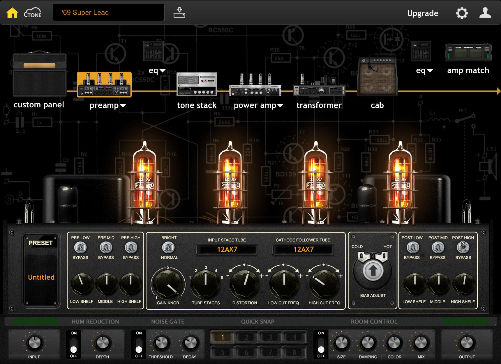 Guitar-Amp Modeler