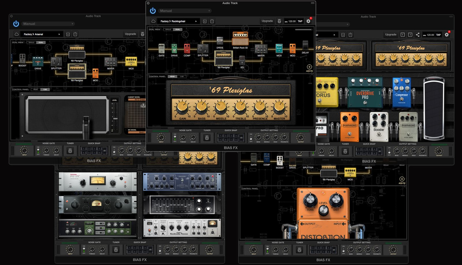 Professional Amp & FX Modeling Software