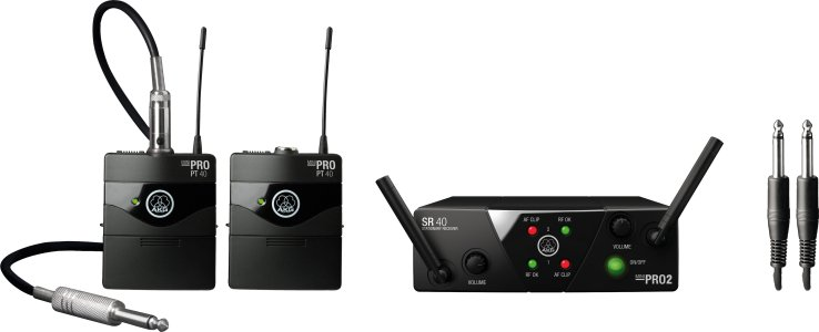 Dual Instrument Wireless System - CD Band