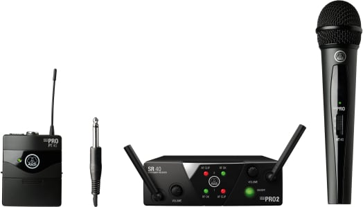 Dual Wireless System - HH and Beltpack - AB Band