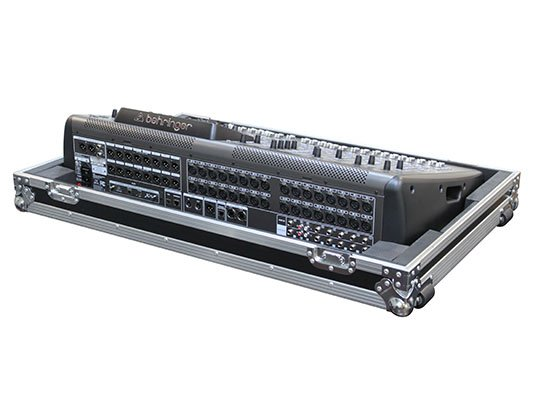 Flight Zone Series ATA Case for Behringer X32, with Wheels