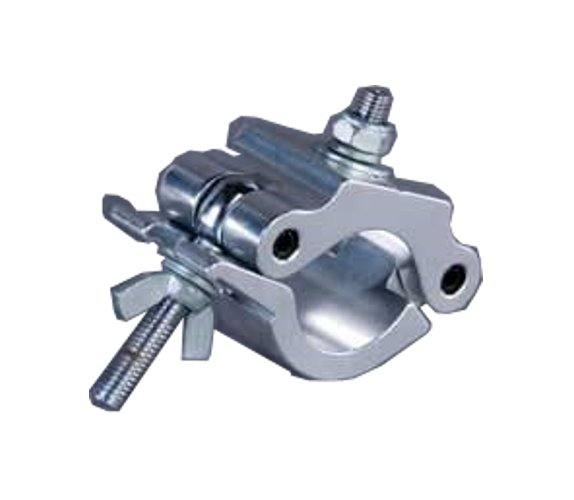 "Aluminum Wrap Around Clamp, Heavy Duty, Fits 2"" Diameter Pipe"
