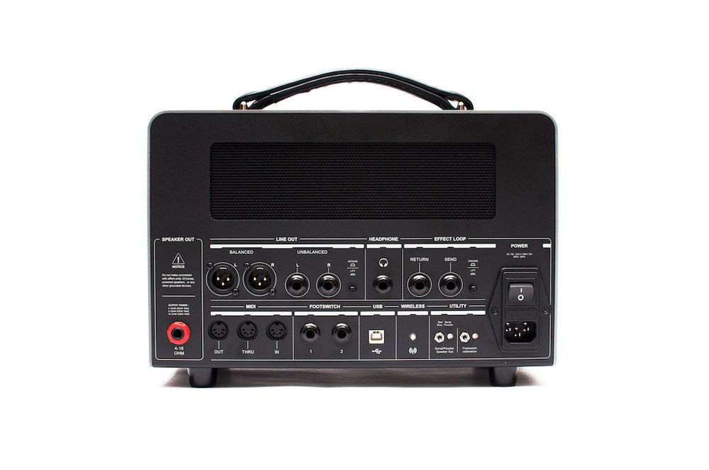 600W Amp Match Amplifer Head with Cover