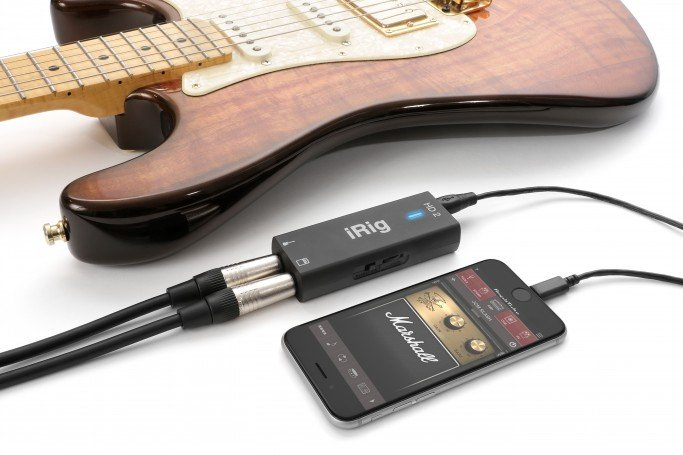 Compact Digital Guitar Interface For iOS, Mac and PC