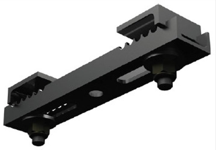 Channel Style Beam Clamp without Eye Bolts