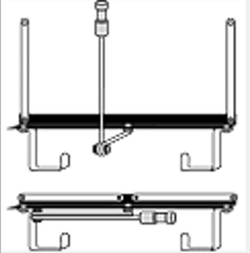 Lowel Light Mfg T1-32 Tota Mount for Windows, Doors, and Walls T1-32
