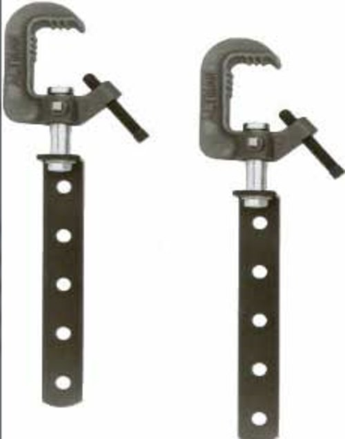 1 Pair of Hanging Arm and Clamps in Black