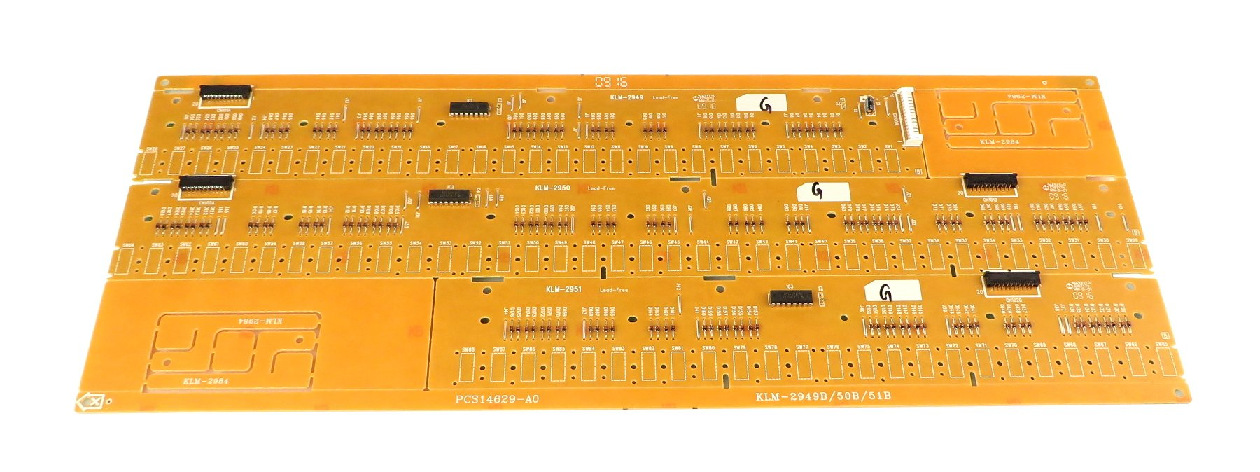 Contact PCB Assembly for SP-170S