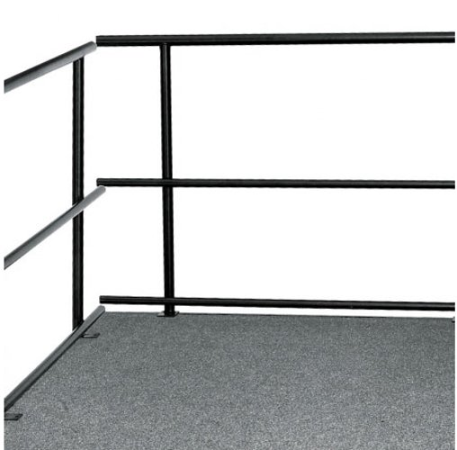 "Guard Rails for Stages, 48""W"