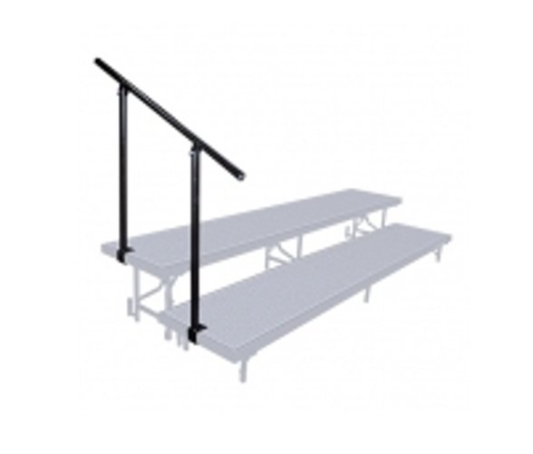 Side Guard Rail for 2-Level Riser