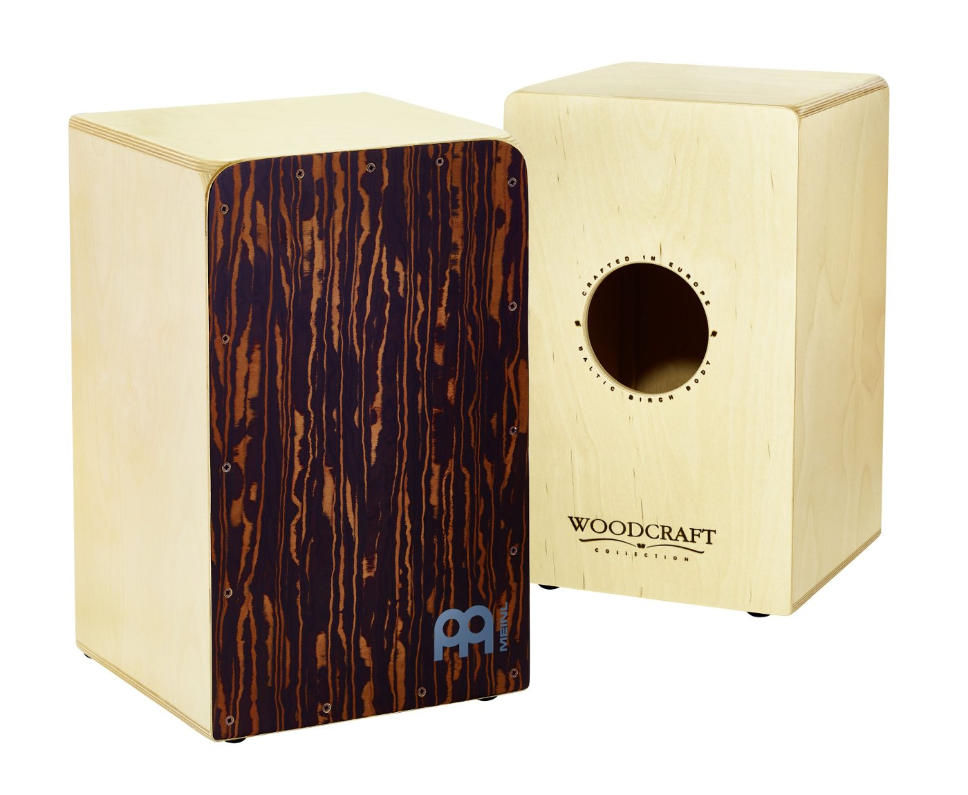 Woodcraft Series Cajon, Striped Boreas Front Plate