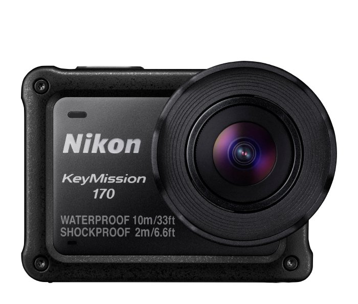 Nikon 26514 Keymission 170 POV in Black 26514