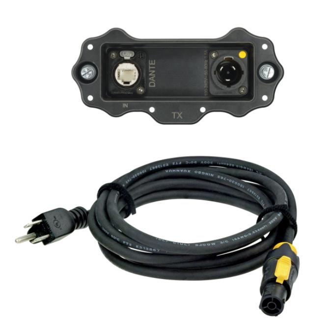 XIRIUM PRO US Transmitter TX Digital DANTE Input Module with NKXPF-5-15-3