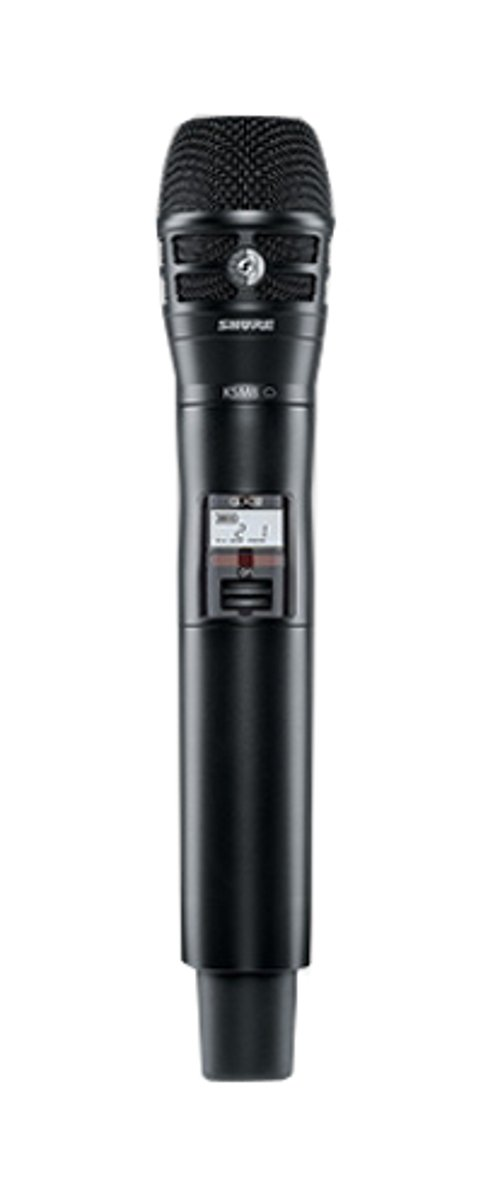 Handheld Transmitter with KSM8 Microphone Capsule, Black