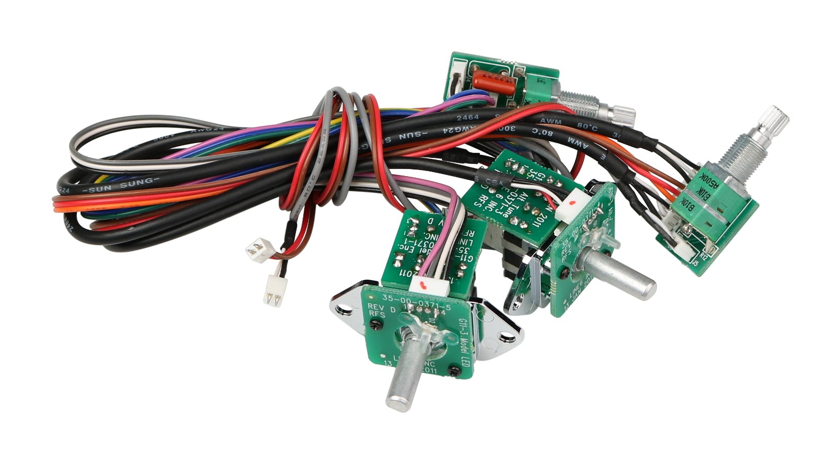 UI with Encoder and Harness PCB Assembly for JTV-59