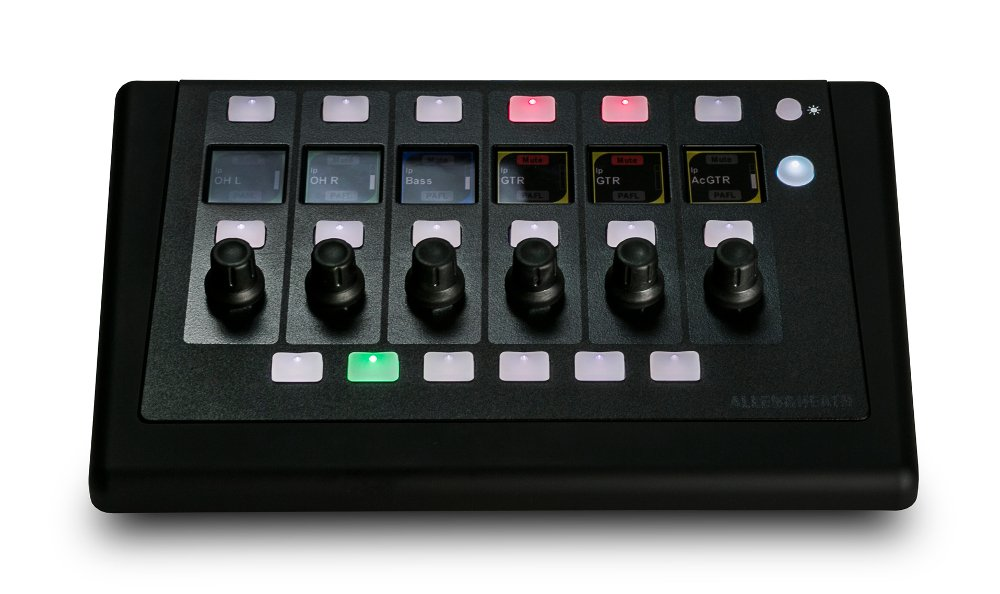 6 Rotary Input and 6 Bank and 8 Soft Keys IP Based Remote Control