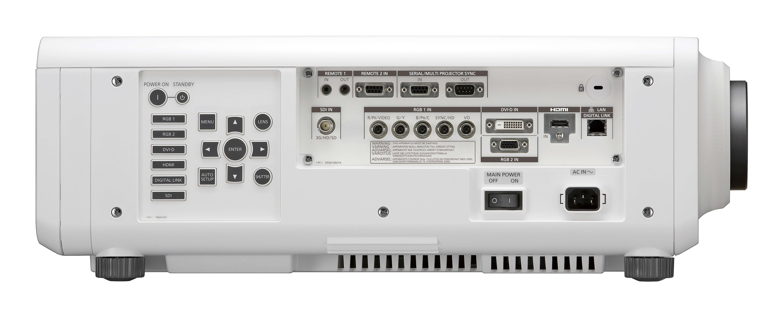 6200 Lumen Laser Projector in White