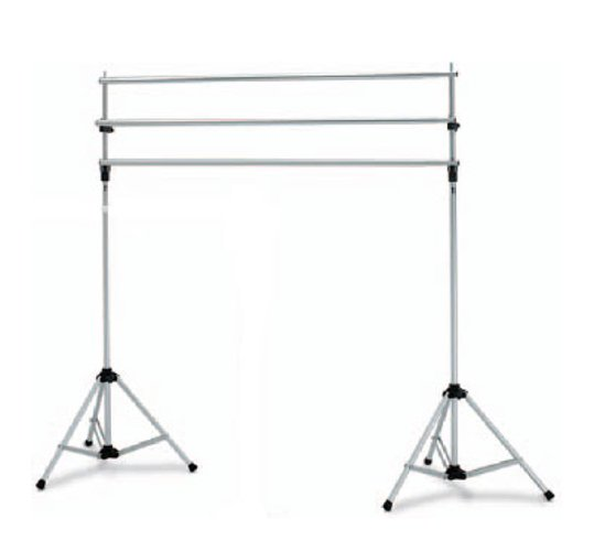 Deluxe Background Stand System with (3) Crossbars