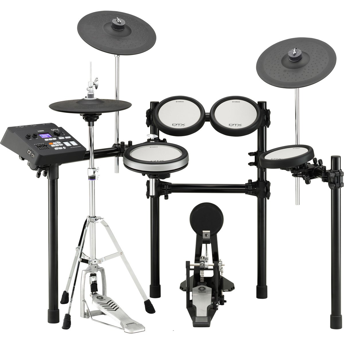 Electronic 9-Piece Drum Kit with Hardware Kit