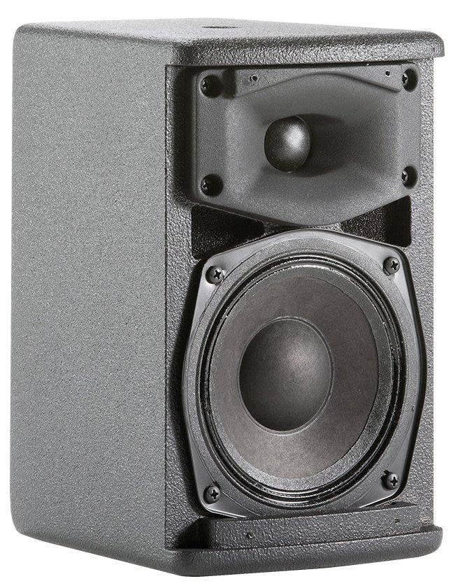 "Ultra Compact 2-Way Speaker with 1 x 5.25"" LF Transducer, in Black, Sold in Pairs"