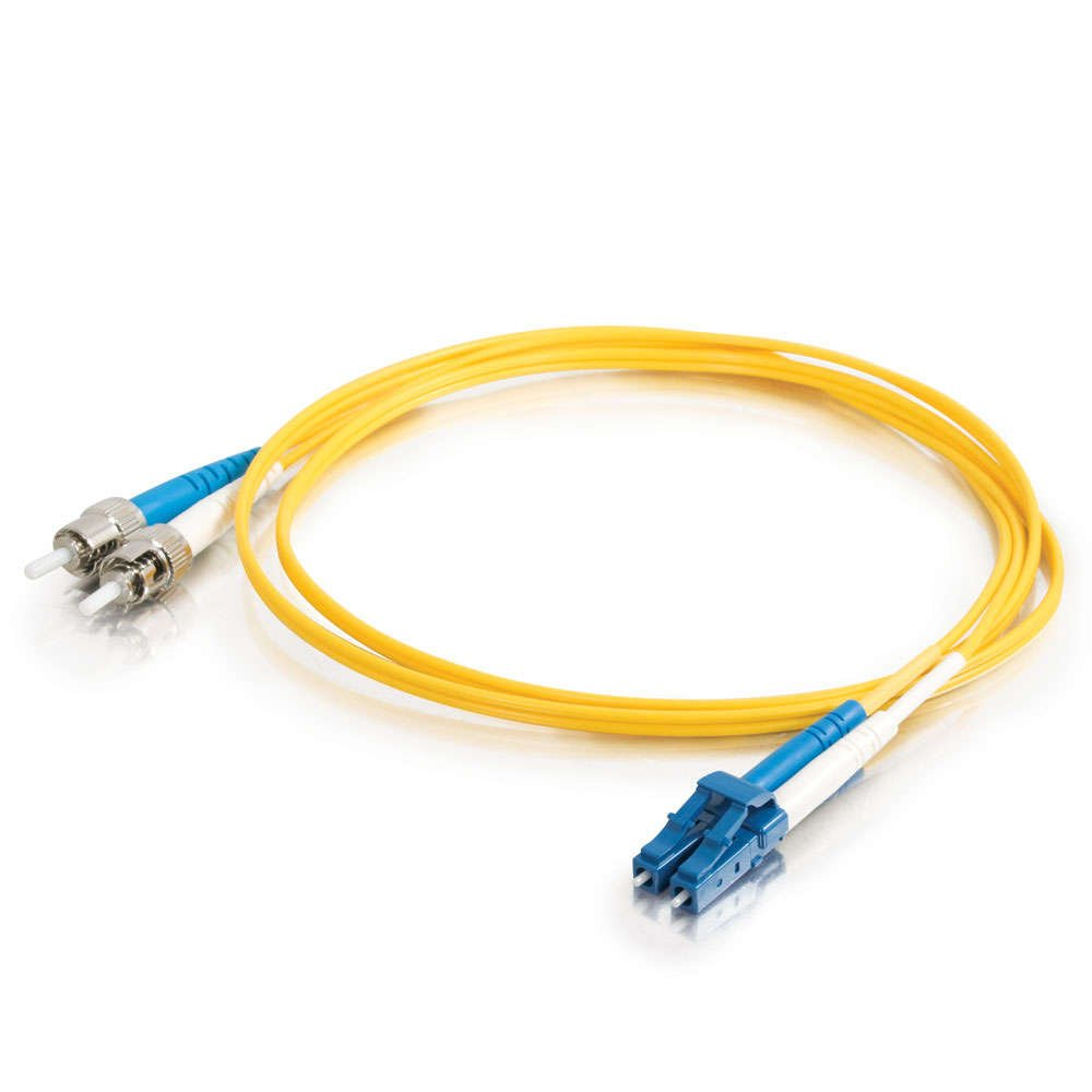 1M PVC Fiber Optic Cable, Yellow