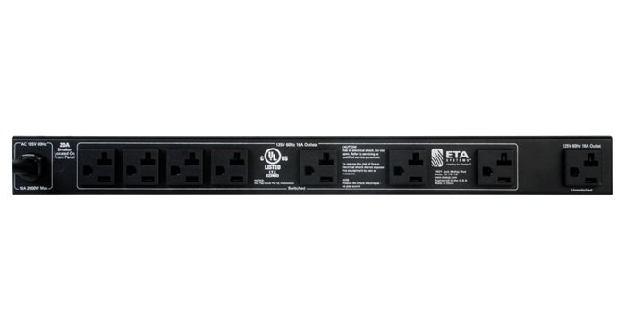 ETA Systems ETA-S20  20A Power Conditioner and Distribution Unit ETA-S20