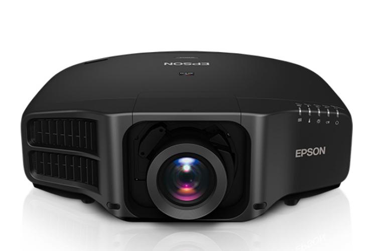 8000 Lumen XGA Black Projector with Standard Lens