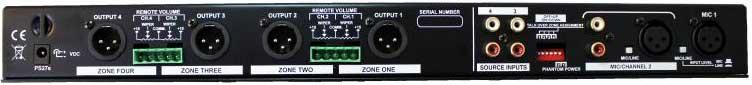 Four-Zone Mixer