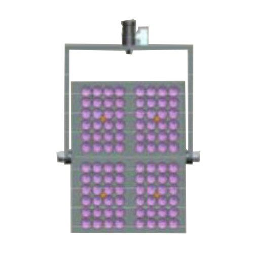 Joining Bracket for 4 Pieces of TVL3000 LED Light