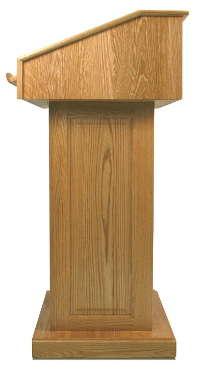 Victoria Lectern without Sound System